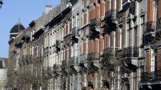 L'un des appartements se situe à Schaerbeek, l'une des communes de Bruxelles. (ERIC LALMAND / BELGA MAG / AFP)