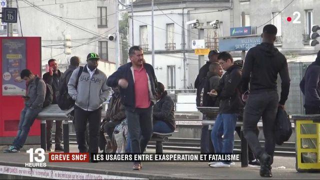 Grève SNCF : entre exaspération et fatalisme, les usagers se confient