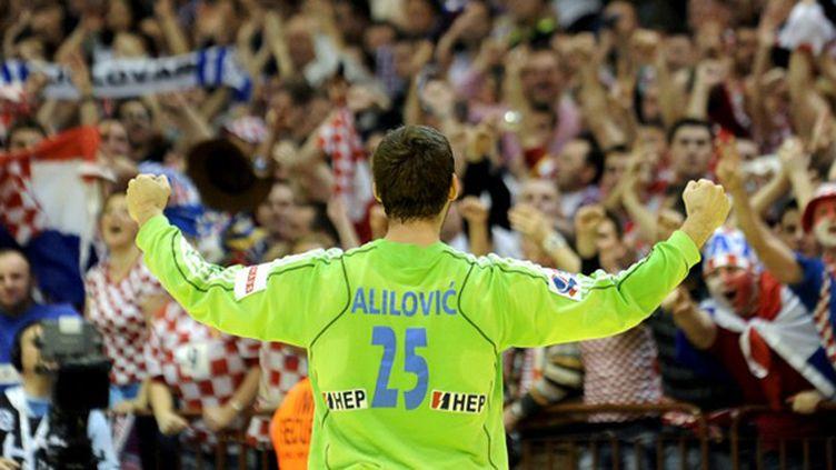 Le gardien de but croate, Mirko Alilovic