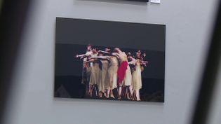 Pina Bausch par Ursula Kaufmann, au Parvis Espace Culturelà Pau. (CAPTURE D'ÉCRAN FRANCE 3 / Elixabete GONZALEZ)