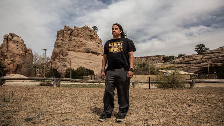 (Manny Wheeler, directeur du musée de la nation navajo © Matthieu Mondoloni/France Info)