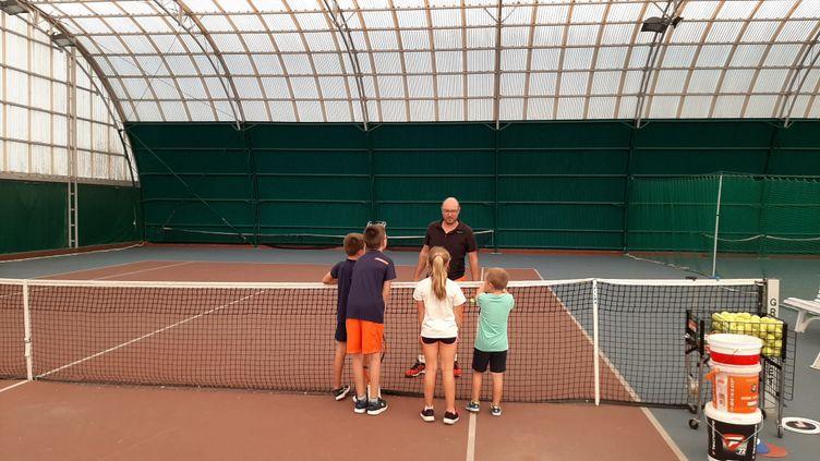 Uncours de tennis (illustration). (SIMON CARDONA / FRANCE-BLEU CREUSE)