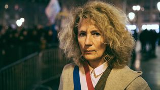 La députée LREM Martine Wonner, signataire de la tribune contre les mesures sur l'immigration annoncées par le gouvernement. (MARIE MAGNIN / AFP)