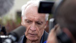 Jean-Paul Teissonnière, l'avocat de Murielle Bolle dans l'affaire Grégory. (JEAN-CHARLES OLE / MAXPPP)