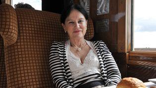 L'écrivaine Irène Frain en 2011. (ALAIN JOCARD / AFP)