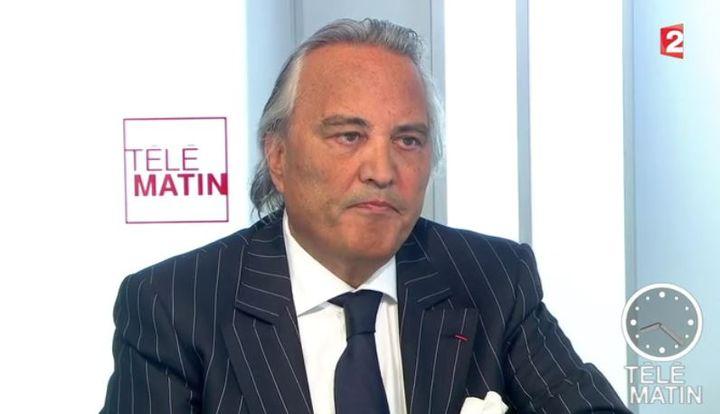 Roland Jacquard, le 12 janvier 2015, sur France 2. (FRANCE 2 / FRANCETV INFO)