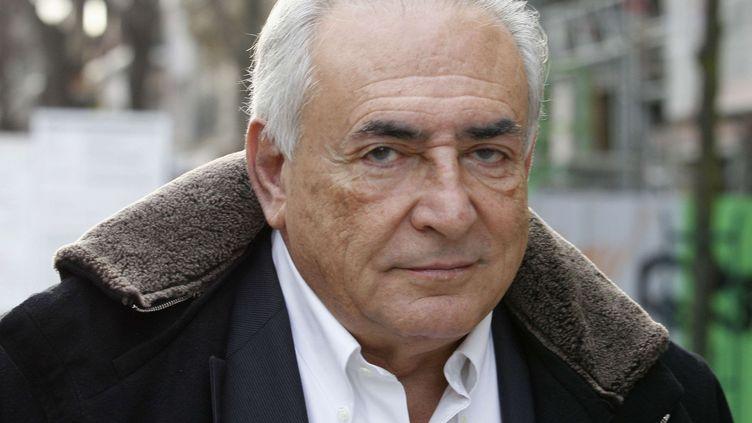 Dominique Strauss-Kahn, le 11 décembre 2012 à Paris. (JACQUES BRINON / AP / SIPA)