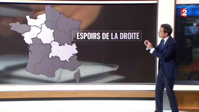 Élections régionales : les projections de la droite et de la gauche
