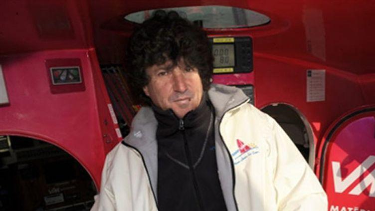 Le skipper Jean Le Cam