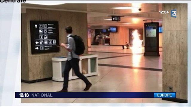 Bruxelles : attentat manqué à la gare centrale