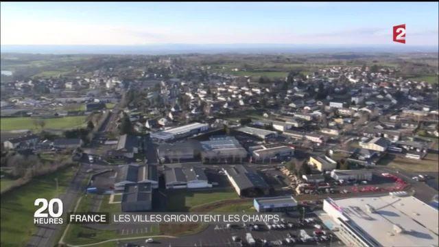 France : les villes grignotent les champs