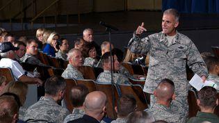 Le Lieutenant-général Jay Silveria, de l'Académie de l'armée de l'air des Etats-Unis, à Colorado Springs, le 17 août 2017. (REUTERS)