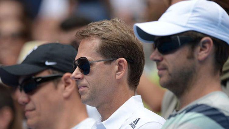 Le Suédois Stefan Edberg dans le clan Federer