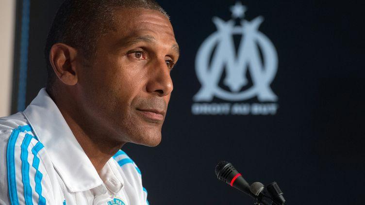 Franck Passi, l'entraîneur de l'OM (BERTRAND LANGLOIS / AFP)