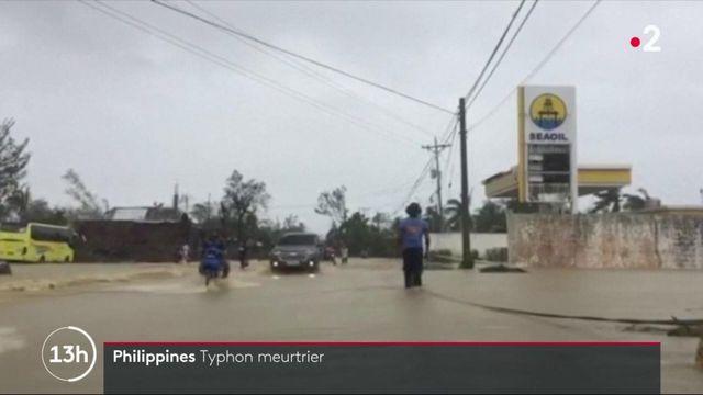 Philippines : un typhon meurtrier