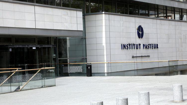 L'Institut Pasteur à Paris, le 24 mars 2017. (JEAN-BAPTISTE QUENTIN / MAXPPP)