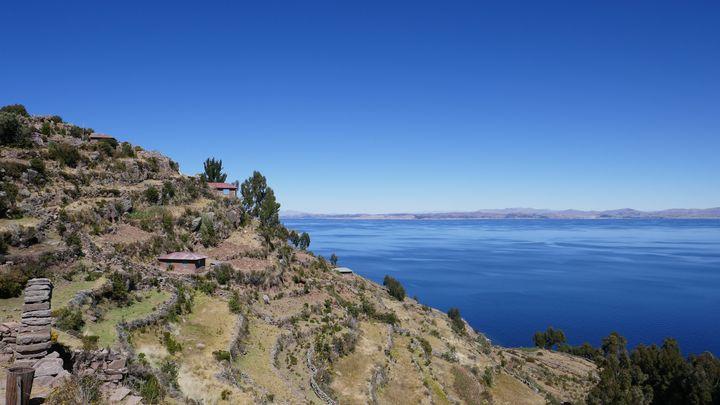 Le lac Titicacaentre le Pérou et la Bolivie. (RAPHAEL MANTERO / MAXPPP)