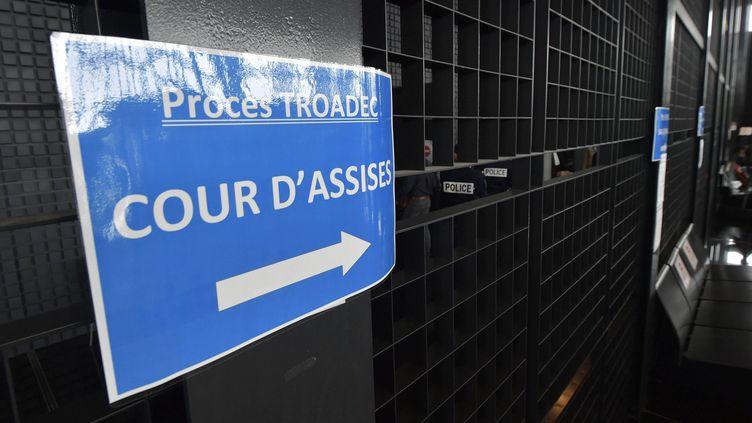 Procès Troadec à la cour d'assisesde Loire-Atlantique. (JEROME FOUQUET / MAXPPP)