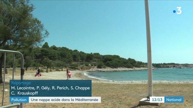 Pollution : une nappe acide se déverse dans la Mediterrannée