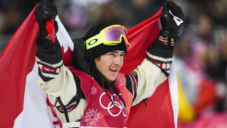 Sébastien Toutant est devenu le premier champion olympique de snowboard Big Air (FRANCK FIFE / AFP)