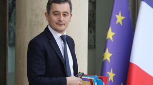 Gérald Darmanin, ministre de l'Action et des Comptes publics, à l'Elysée, le 19 février 2020. (LUDOVIC MARIN / AFP)
