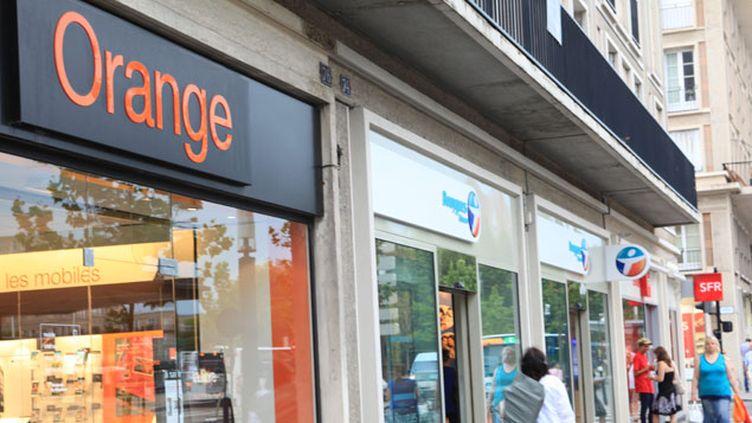 (L'union d'Orange et Bouygues Telecom créerait le leader du mobile en France © Maxppp)