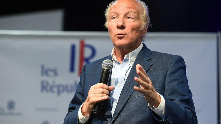 Brice Hortefeux, eurodéputé les Républicains et ex-ministre de l'Intérieur, le 8 septembre 2018 au capus de son parti, au Touquet. (MAXPPP)