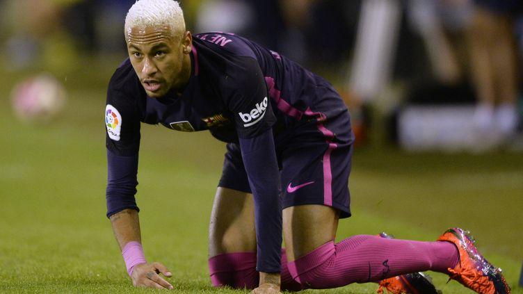 Neymar sous le maillot du Barça (MIGUEL RIOPA / AFP)