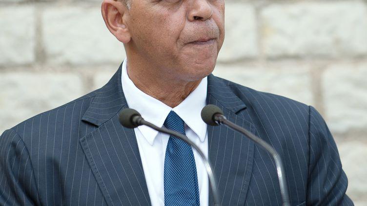 Kader Arif, secrétaire d'Etat chargé des Anciens combattants, à Maille (Indre-et-Loire), le 25 août 2014. (GUILLAUME SOUVANT / AFP)
