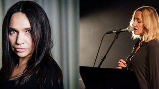 Béatrice Dalle et Virginie Despentes inaugurent la première édition des Emancipéés avec une création musicale consacrée à Pier Paolo Pasoloni  (PHOTOPQR/LE PARISIEN / Festival les Emancipéés)