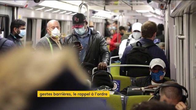 Coronavirus : les gestes barrières de moins en moins respectés