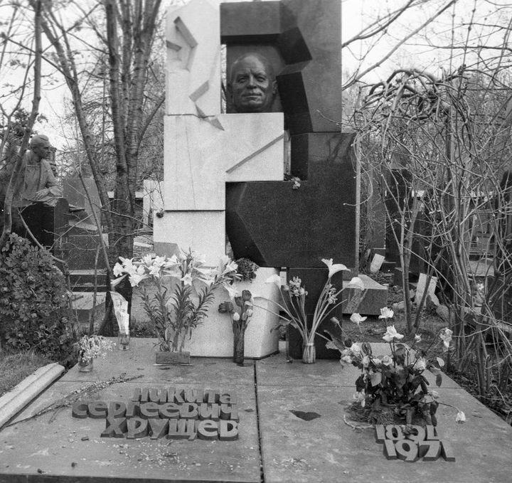 La tombe de Nikita Khrouchtchev parErnst Neïzvestny  (Vyatkin Vladimir / RIA Novosti / Sputnik)