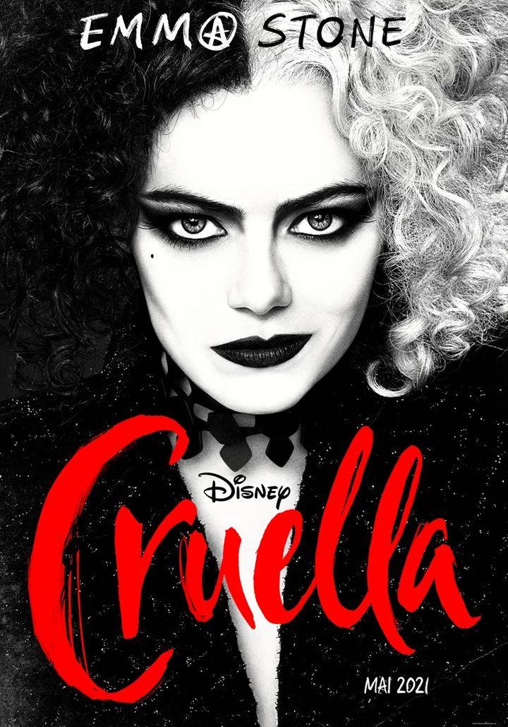 "L'affiche de ""Cruella"" deCraig Gillespie (2021). (THE WALT DISNEY COMPANY FRANCE)"