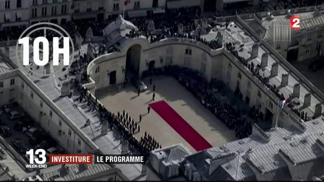Investiture d'Emmanuel Macron : le programme de la cérémonie