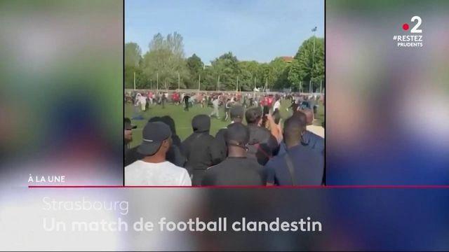 Strasbourg : près de 400 supporters réunis pour un match de football en pleine pandémie