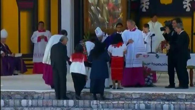 """Mexique : le pape demande un """"examen de conscience"""" sur le sort réservé aux peuples indigènes"""