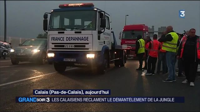 Migrants : les habitants de Calais veulent démanteler la Jungle