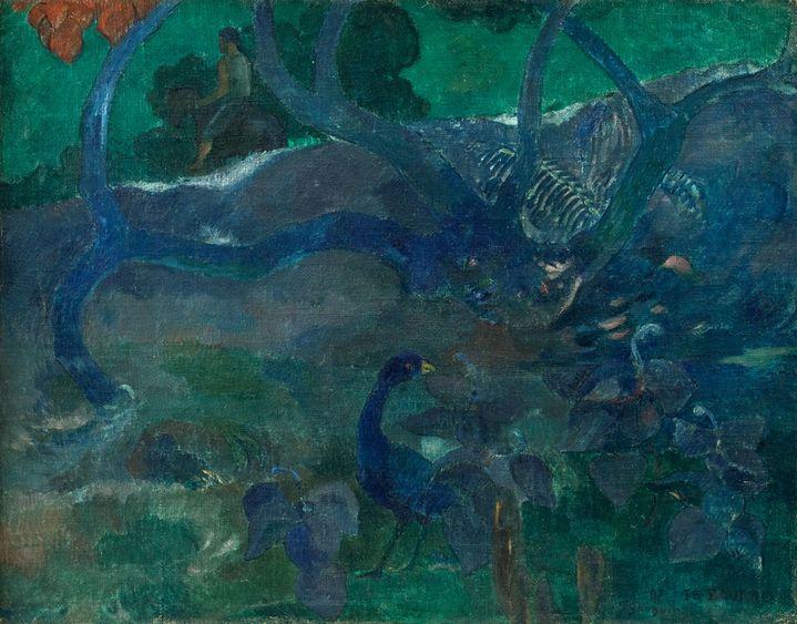 "Paul Gauguin, ""Te Bourao II"" (courtesy Artcurial)"