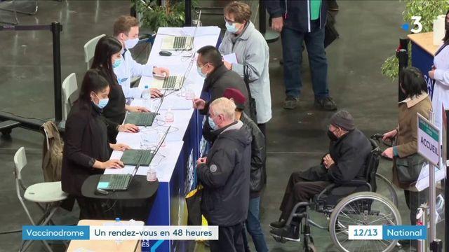 Vaccinodome : vaccination de masse à Saint-Quentin-en-Yvelines