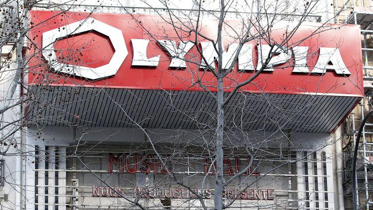 La façade de l'Olympia.  (Yoan Valat / EPA / MaxPPP)