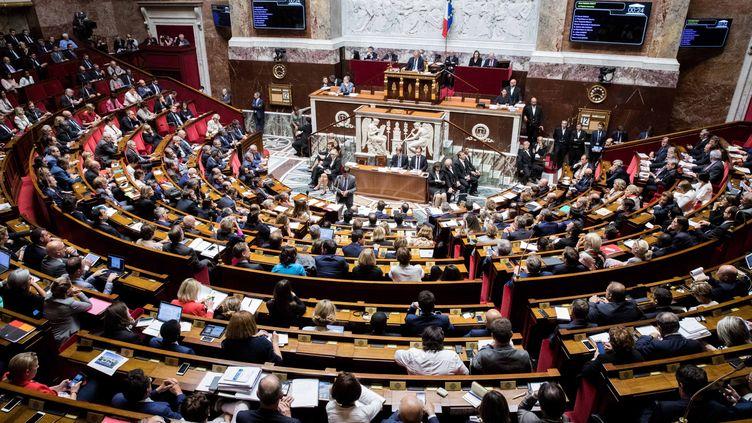 Les députés lors de la séance de questions au gouvernement, le 12 juillet 2017 à l'Assemblée nationale. (MAXPPP)
