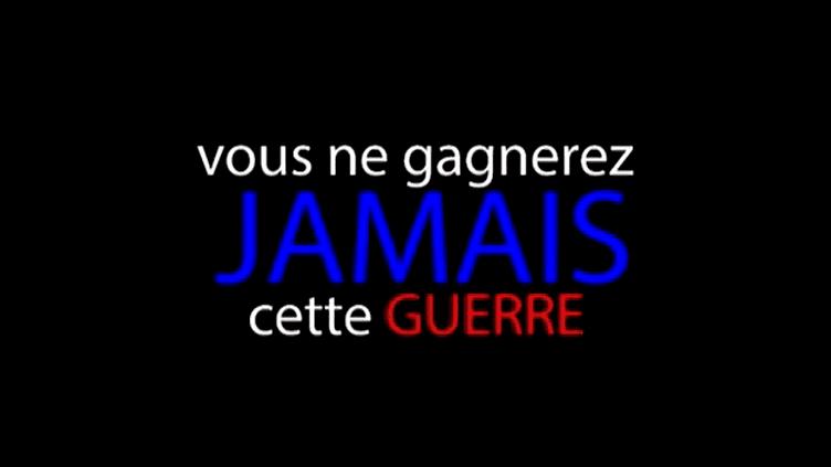 Un message sur le web après le 13 novembre  (France 3 / Culturebox)