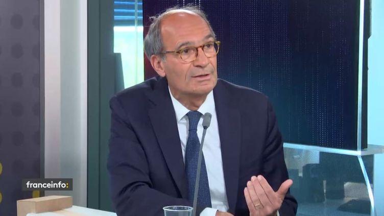 Éric Woerth, député Les Républicains de l'Oise, était l'invité de franceinfo lundi 31 mai 2021. (FRANCEINFO / RADIO FRANCE)