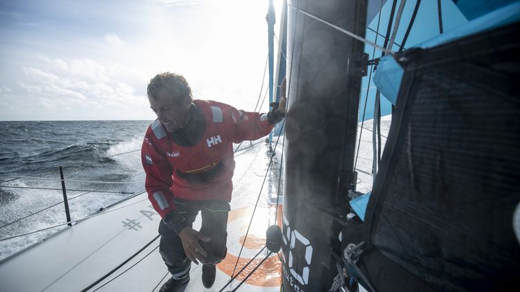 Le skipper français Thomas Ruyant (LinkedOut).