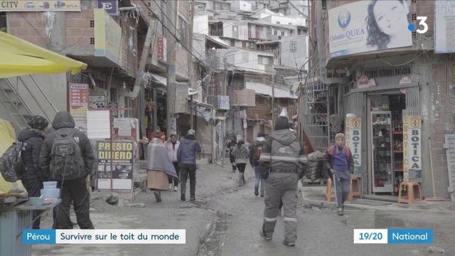Pérou : survivre dans la ville la plus haute du monde