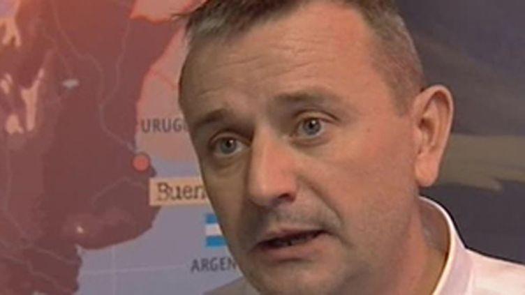 Etienne Lavigne, le patron du Dakar