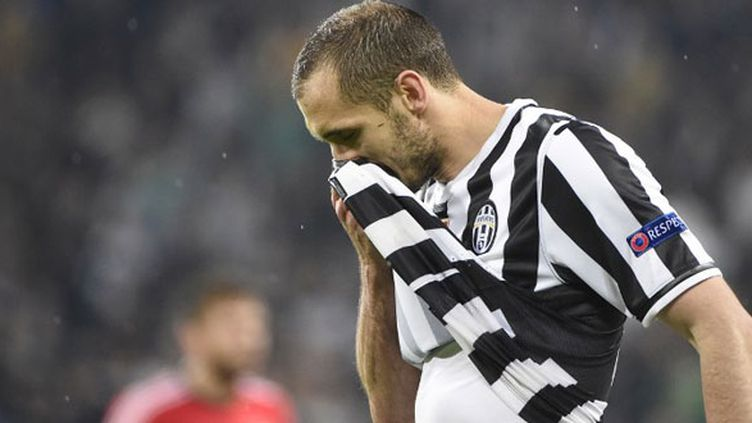 Le défenseur de la Juventus Turin, Giorgio Chiellini