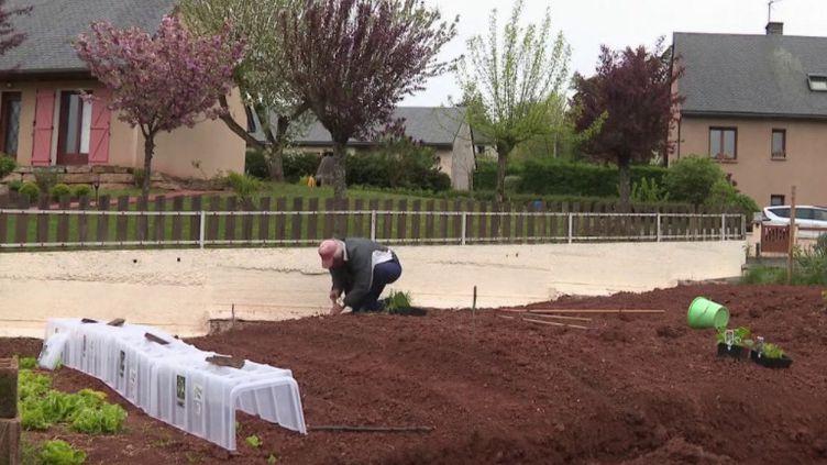 Confinement : ils en profitent pour jardiner (CAPTURE D'ÉCRAN FRANCE 3)