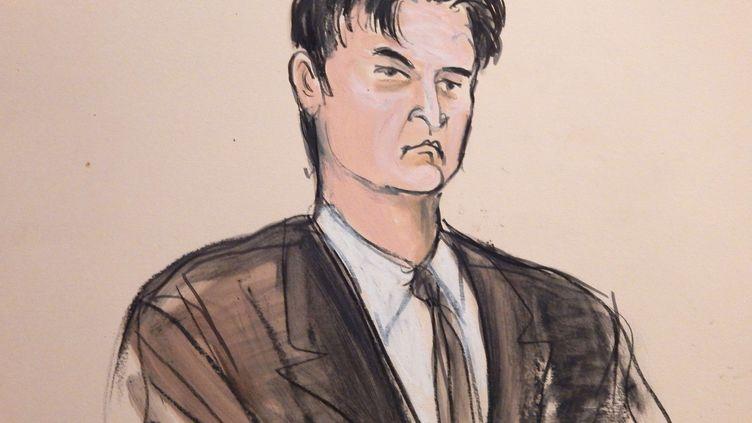 Ross Ulbricht a été condamné à la réclusion à perpétuité, sans possibilité de libération. (ELIZABETH WILLIAMS / AP / SIPA)