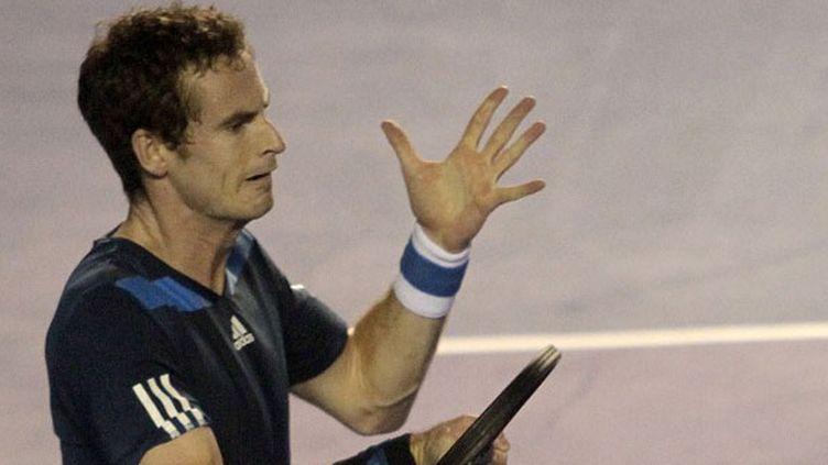 Le tennisman britannique, Andy Murray